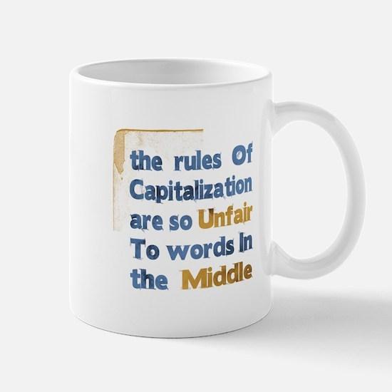 Capitalization - Mug