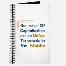 Capitalization - Journal