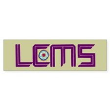 LCMS Sticker with Luther Seal 2 (Bumper)