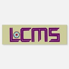 LCMS Sticker with Luther Seal (Bumper)