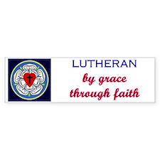 Lutheran by Grace 2 Bumper Stickers