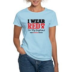 I Wear Red Boyfriend T-Shirt