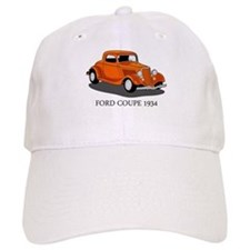 Ford Coupe 1934 Baseball Cap