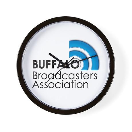 Buffalo Broadcasters Wall Clock