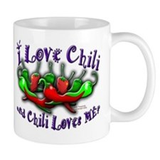 I Love Chili and More Mug