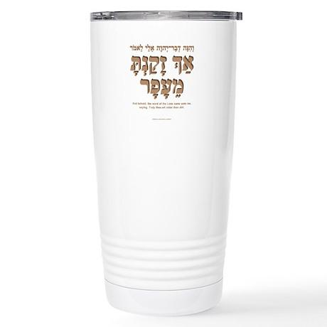 Older than Dirt (Hebrew m) Stainless Steel Travel