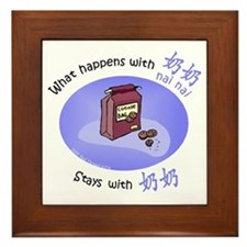 What Happens With Nai Nai... Framed Tile