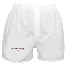 Methodist / Mission! Boxer Shorts