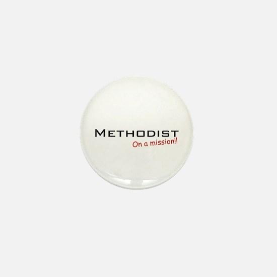 Methodist / Mission! Mini Button