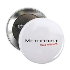 "Methodist / Mission! 2.25"" Button"