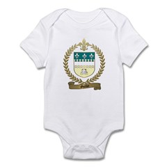 GUILLET Family Crest Infant Creeper