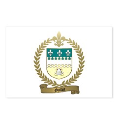GUILLET Family Crest Postcards (Package of 8)