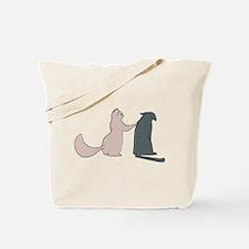 Care Cat Tote Bag