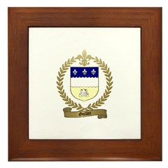 GUILLOT Family Crest Framed Tile