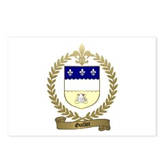 GUILLOT Family Crest Postcards (Package of 8)