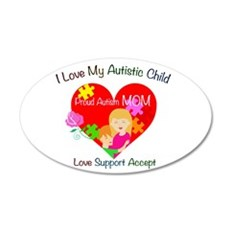 I Love My Autistic Child Wall Decal