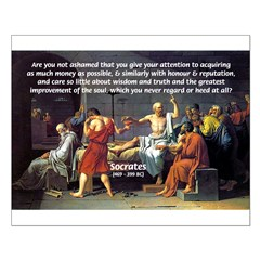 Truth and Wisdom: Socrates Posters