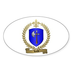 HACHE Family Crest Oval Decal