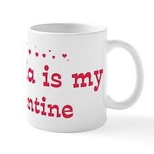 Victoria is my valentine Mug