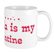 Victoria is my valentine Mug