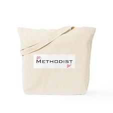 Go Methodist Tote Bag