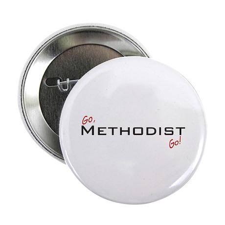 """Go Methodist 2.25"""" Button (100 pack)"""