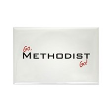 Go Methodist Rectangle Magnet (10 pack)