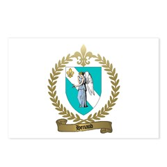 HENAUD Family Crest Postcards (Package of 8)