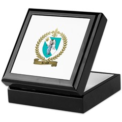 HENAUD Family Crest Keepsake Box