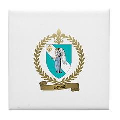 HENAUD Family Crest Tile Coaster