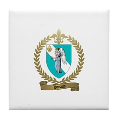 HENAUD Family Crest Tile Coaster