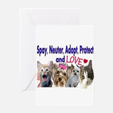 More Veterinary Greeting Card