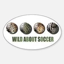 Wild About Soccer Decal
