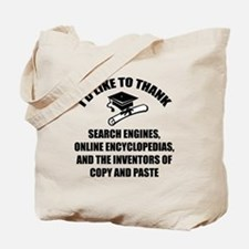 Graduation Tote Bag