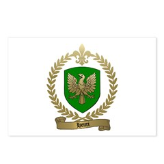 HENRI Family Crest Postcards (Package of 8)