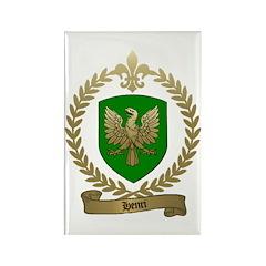 HENRI Family Crest Rectangle Magnet (100 pack)