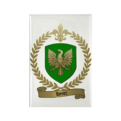 HENRI Family Crest Rectangle Magnet (10 pack)