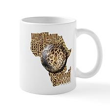 Giraffe Soccer Ball Mug