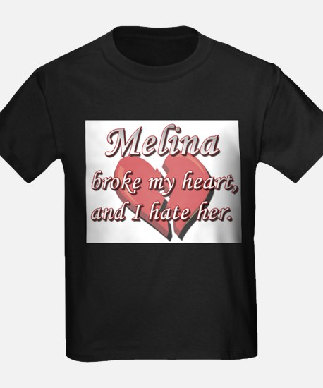 Melina broke my heart and I hate her T