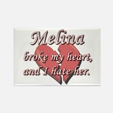 Melina broke my heart and I hate her Rectangle Mag