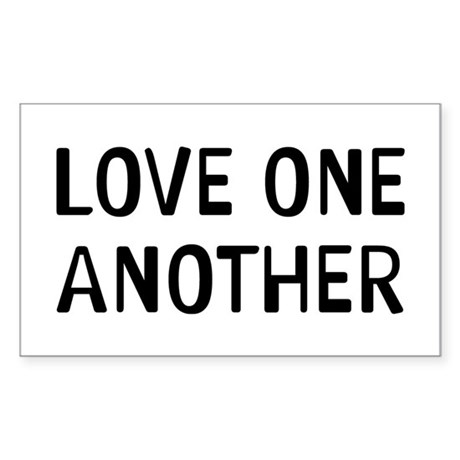 Love One Sticker (Rectangle)