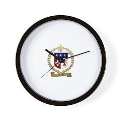 HERAUT Family Crest Wall Clock