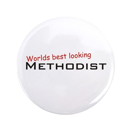 "Best Methodist 3.5"" Button (100 pack)"