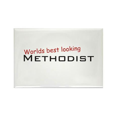 Best Methodist Rectangle Magnet