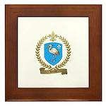 HERON Family Crest Framed Tile