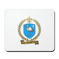 HERON Family Crest Mousepad