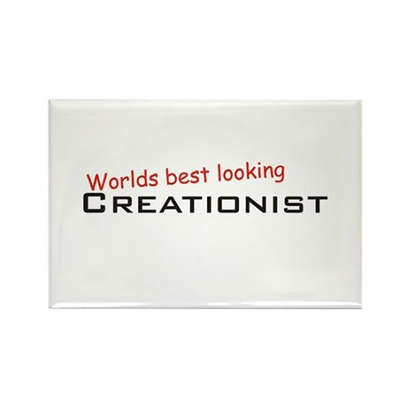 Best Creationist Rectangle Magnet