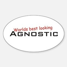 Best Agnostic Oval Decal