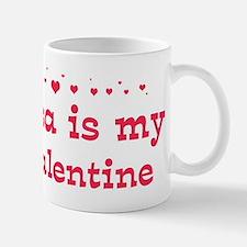 Lisa is my valentine Mug