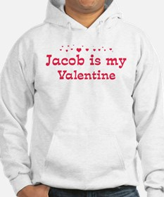 Jacob is my valentine Hoodie
